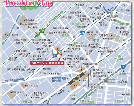 物件番号: 1025883214 SDグランツ神戸大開通  神戸市兵庫区大開通7丁目 1R マンション 画像1
