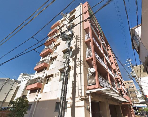 物件番号: 1025883779 ハミングコート  神戸市中央区北長狭通8丁目 1LDK マンション 外観画像