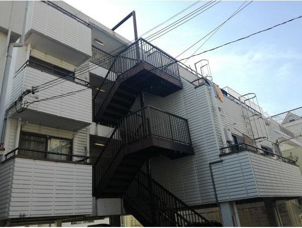 物件番号: 1025882230 永光ビルディング熊内橋  神戸市中央区熊内橋通3丁目 2DK マンション 外観画像