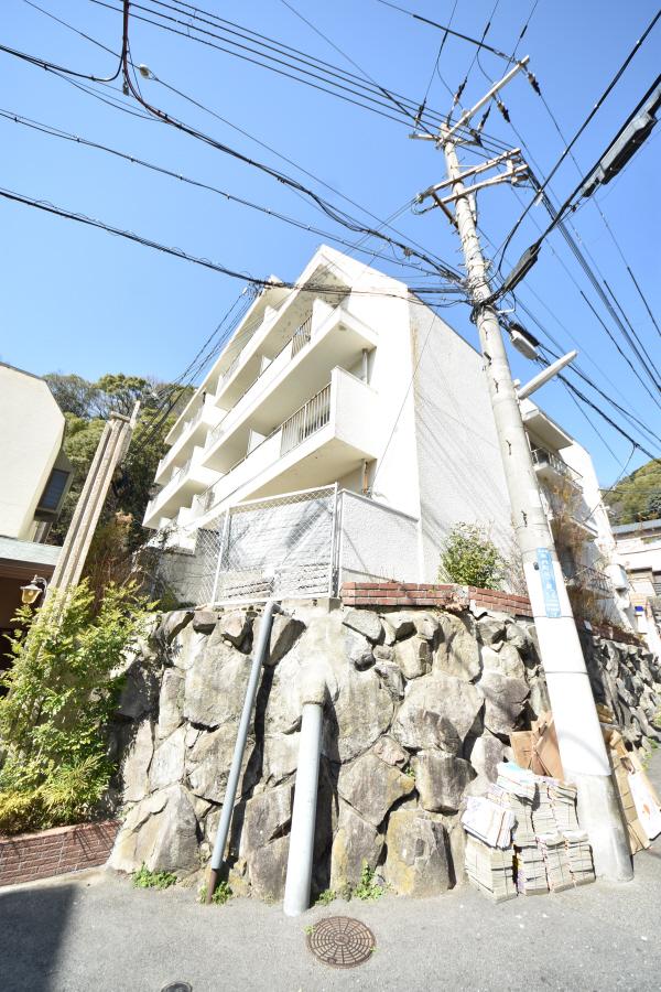 物件番号: 1025882447 熊内マンション  神戸市中央区熊内町5丁目 2DK マンション 外観画像