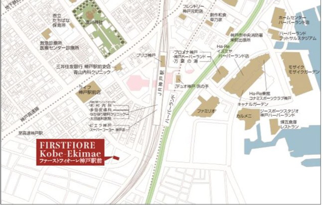 物件番号: 1025882498 ファーストフィオーレ神戸駅前  神戸市中央区相生町5丁目 1K マンション 画像1