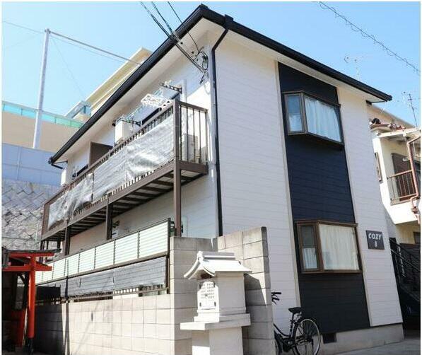 物件番号: 1025882823 COZY8  神戸市兵庫区松本通8丁目 1K ハイツ 外観画像