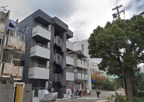 物件番号: 1025882892 ERCity's nishinada  神戸市灘区岩屋中町1丁目 1LDK マンション 外観画像