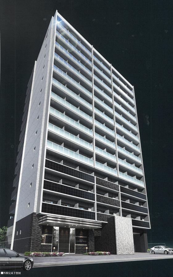 物件番号: 1025883072 エスリード神戸ハーバーテラス  神戸市中央区中町通4丁目 1K マンション 外観画像