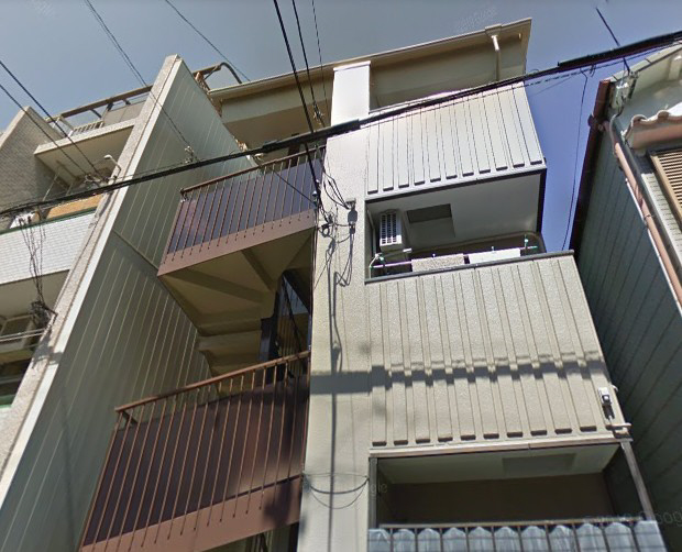 物件番号: 1025883238 ニュー弥生  神戸市灘区船寺通4丁目 2DK マンション 外観画像