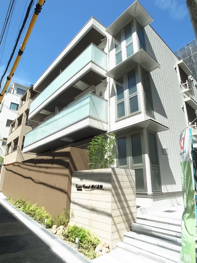 物件番号: 1025883272 グレイスコート神戸北野  神戸市中央区山本通2丁目 2LDK ハイツ 外観画像