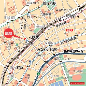 物件番号: 1025883347 メゾンフローラ  神戸市中央区花隈町 1LDK マンション 画像2