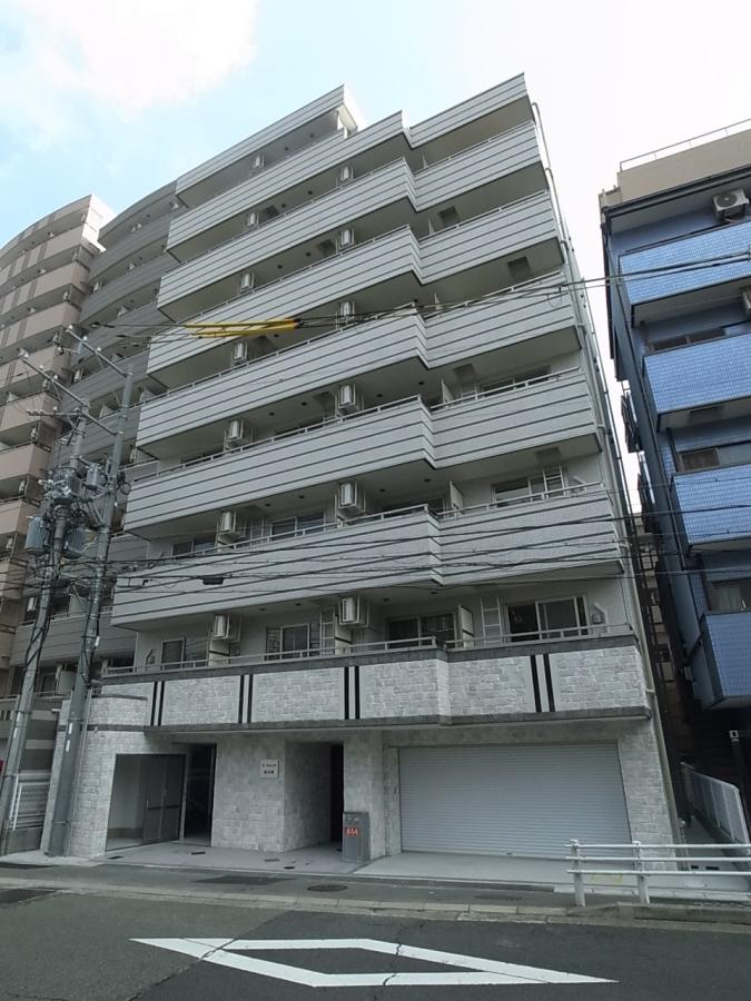 物件番号: 1025883444 ラ・フォンテ春日野  神戸市中央区東雲通1丁目 1K マンション 外観画像