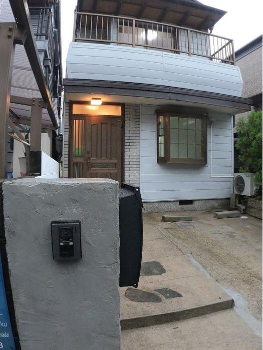 花山台貸家 の外観