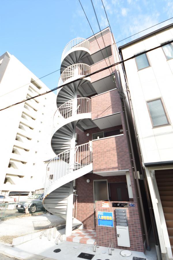 物件番号: 1025883934 第二リーフハイツ  神戸市中央区日暮通1丁目 1DK マンション 外観画像