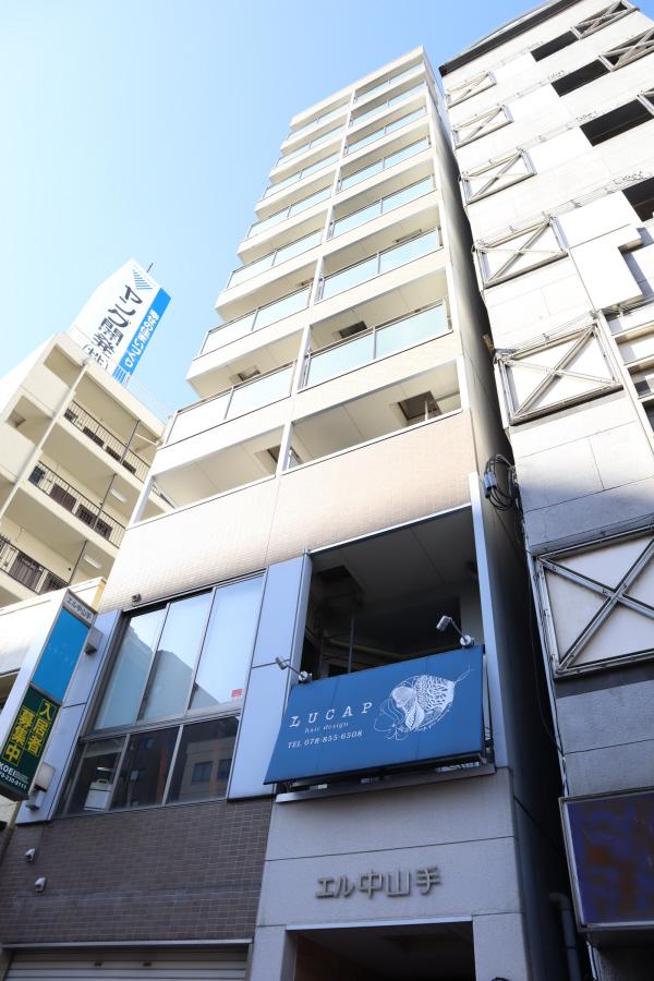 物件番号: 1025883916  神戸市中央区中山手通2丁目 1K マンション 外観画像