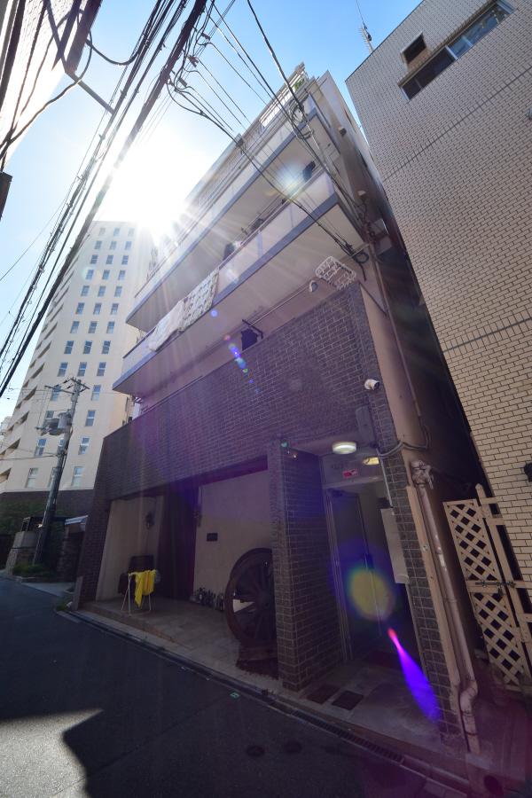 物件番号: 1025884057 パレスマンション  神戸市中央区中山手通2丁目 2DK マンション 外観画像