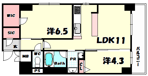 物件番号: 1025884130 スプランディッド神戸北野22  神戸市中央区加納町3丁目 2LDK マンション 外観画像