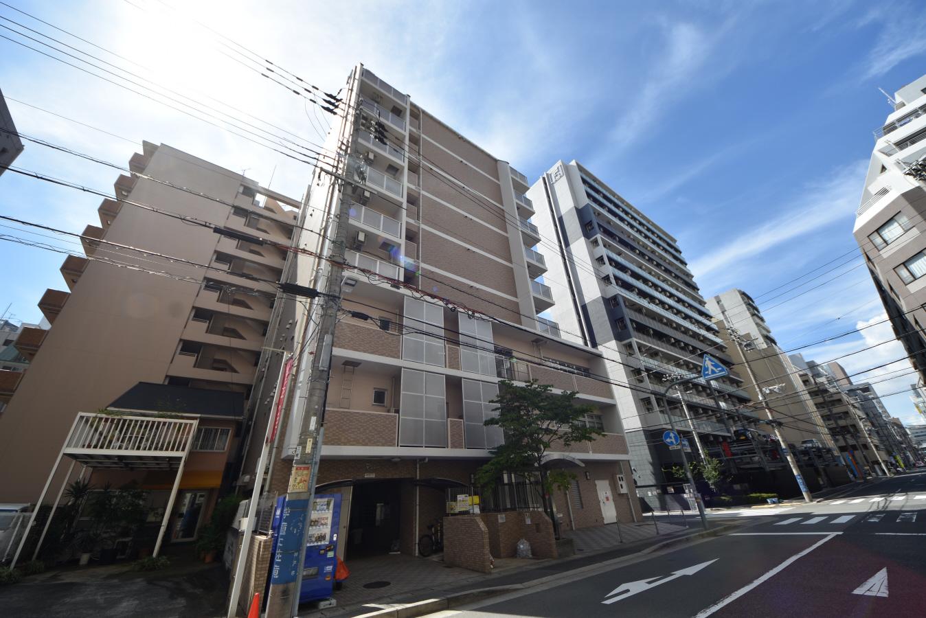 物件番号: 1025884152 マリンシティ三宮  神戸市中央区御幸通2丁目 1K マンション 外観画像