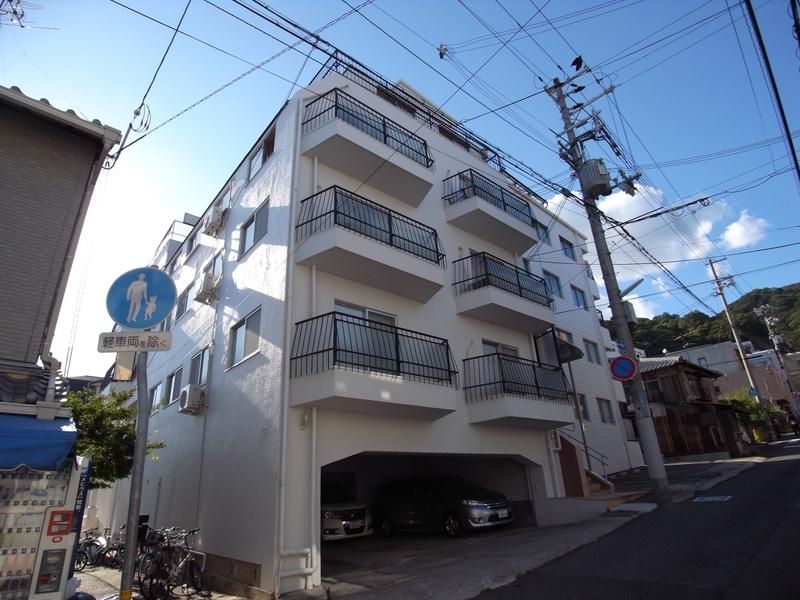 物件番号: 1025858673 永光マンション  神戸市中央区山本通4丁目 2DK マンション 外観画像