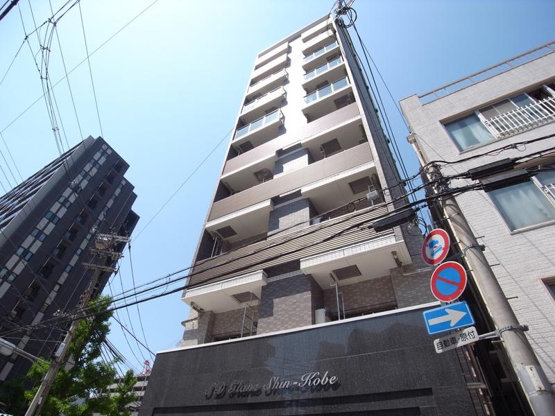 物件番号: 1025883421 SDグランツ新神戸  神戸市中央区布引町2丁目 1R マンション 外観画像