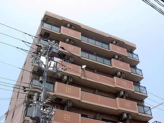 物件番号: 1025818886 アルパ三宮  神戸市中央区琴ノ緒町1丁目 1K マンション 外観画像