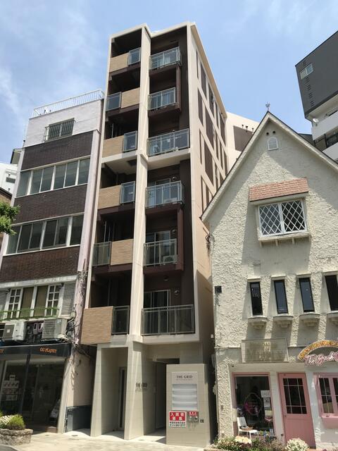 物件番号: 1025881991 THE GRID北野坂  神戸市中央区中山手通1丁目 1DK マンション 外観画像