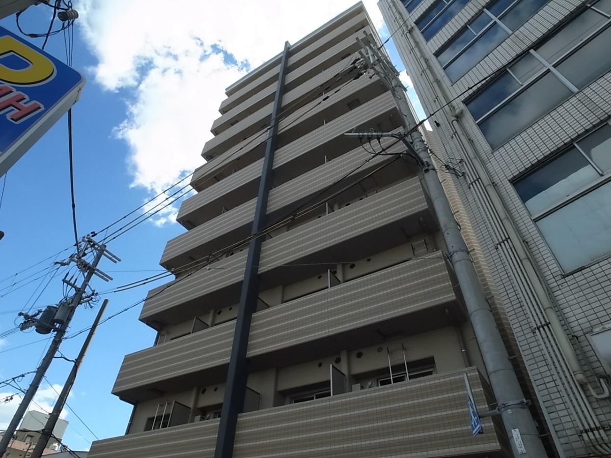 物件番号: 1025883606 ワコーレヴィータ湊川公園  神戸市兵庫区福原町 1K マンション 外観画像