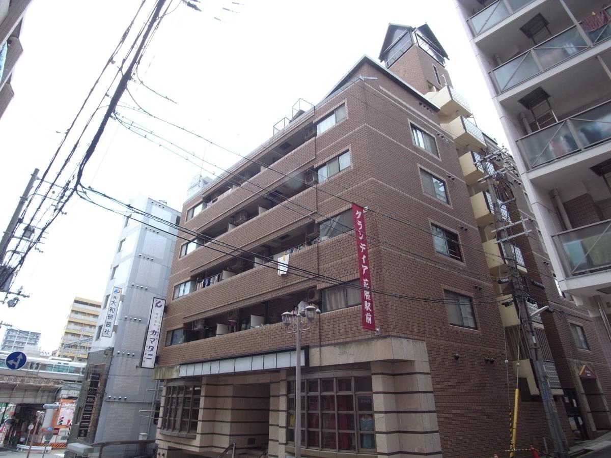 物件番号: 1025883205 グランディア花隈駅前  神戸市中央区北長狭通6丁目 2LDK マンション 外観画像