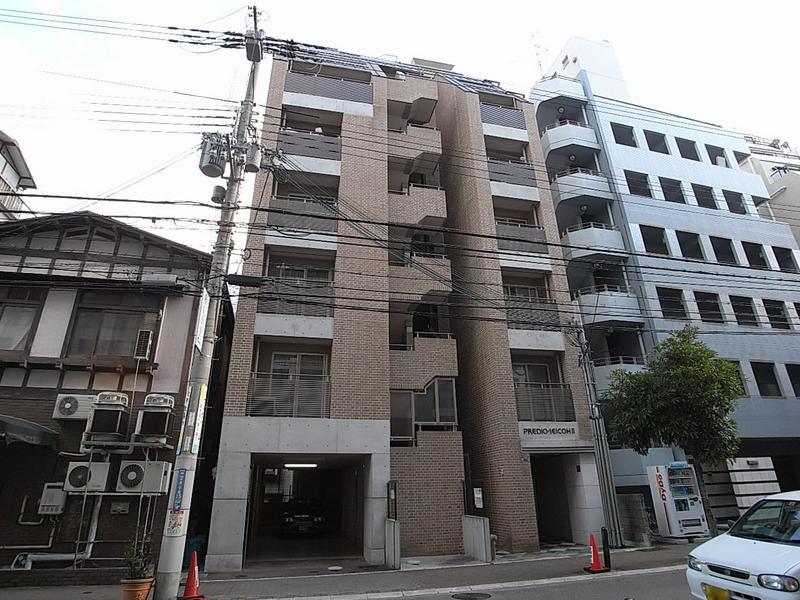 物件番号: 1025818622 PREDIO SEICOHⅡ  神戸市中央区中山手通2丁目 1LDK マンション 外観画像