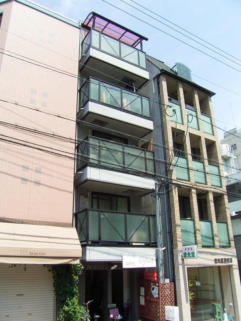 物件番号: 1025882284 N・T・ハイツ  神戸市中央区中山手通2丁目 1DK マンション 外観画像