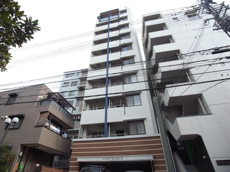 物件番号: 1025881888 オルタンシア下山手  神戸市中央区下山手通6丁目 1K マンション 外観画像