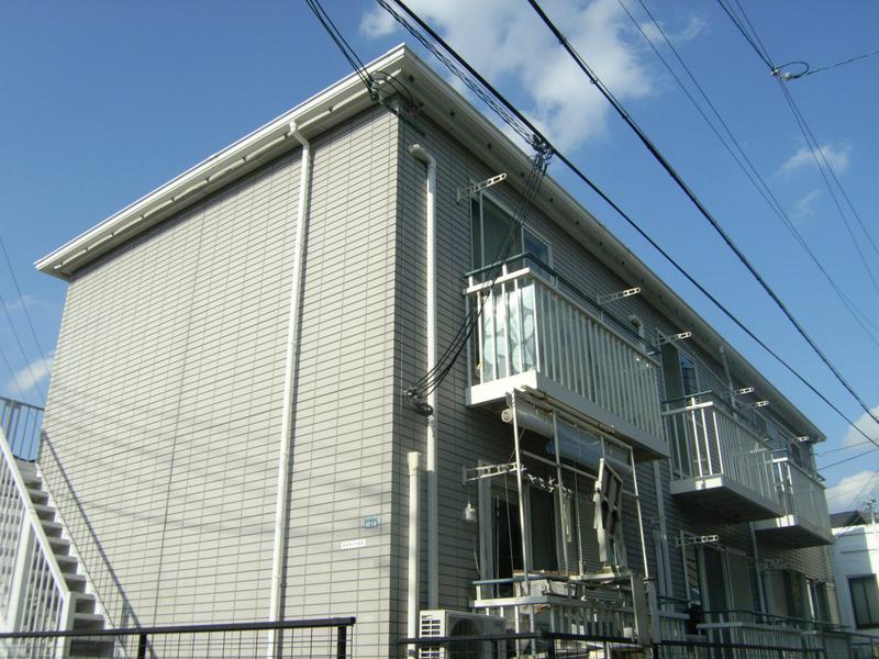 物件番号: 1025822445 ヒルサイド山手  神戸市中央区中山手通7丁目 2DK ハイツ 外観画像