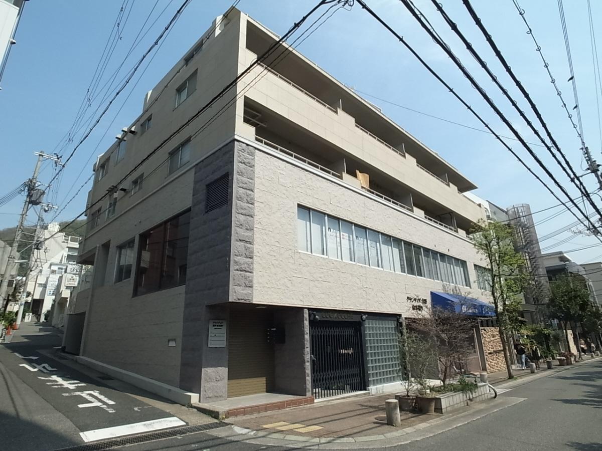 物件番号: 1025882862 グランディア北野 山本通り  神戸市中央区山本通2丁目 2DK マンション 外観画像