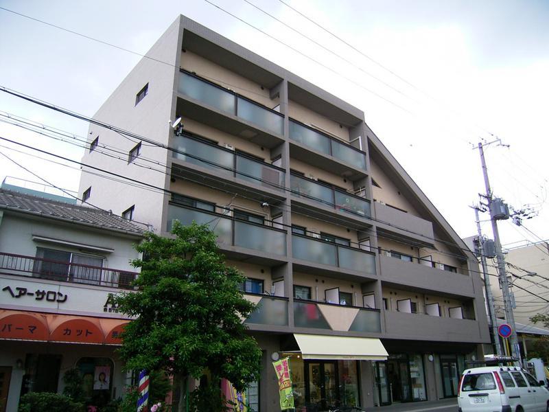 物件番号: 1025864374 ラルゴ永沢  神戸市兵庫区永沢町3丁目 2LDK マンション 外観画像