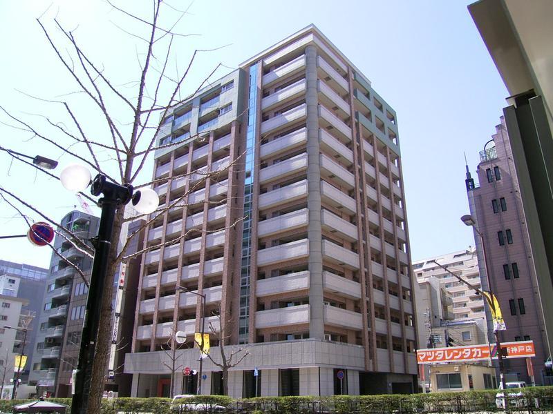 物件番号: 1025845933 インペリアル新神戸  神戸市中央区加納町2丁目 1LDK マンション 外観画像