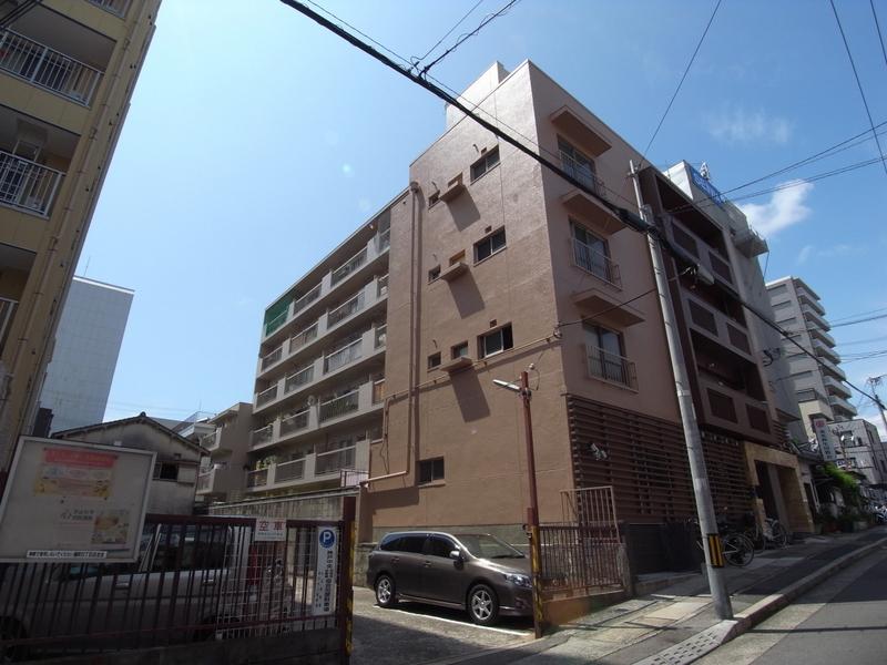 物件番号: 1025856675 楠六住宅ビル  神戸市中央区楠町6丁目 1LDK マンション 外観画像