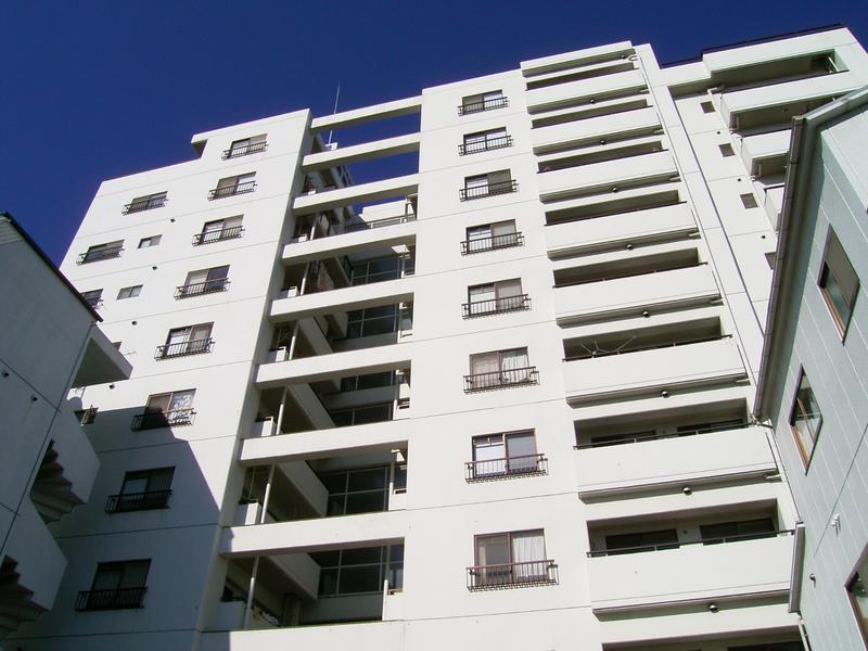 物件番号: 1025832448 セントラルハイツ三宮東  神戸市中央区若菜通6丁目 3DK マンション 外観画像