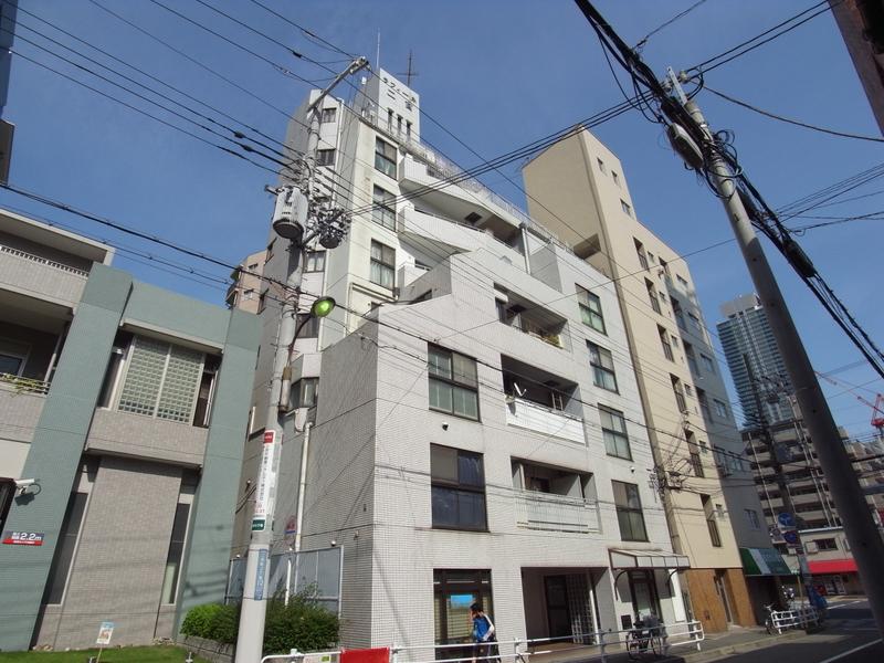 物件番号: 1025833259 ラフィーネ三宮  神戸市中央区二宮町3丁目 1LDK マンション 外観画像