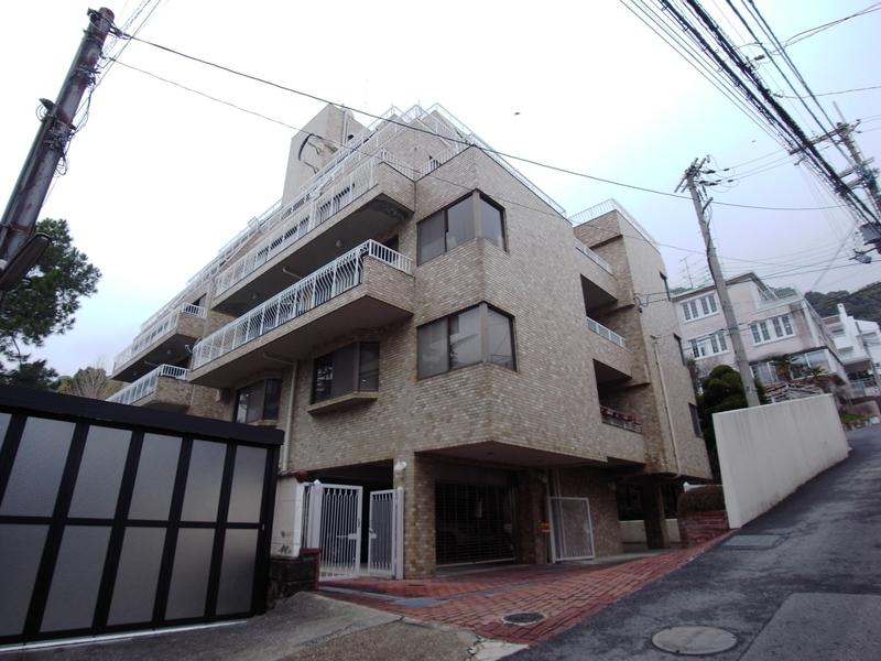 物件番号: 1025865341 第4スカイマンション  神戸市中央区北野町2丁目 3LDK マンション 外観画像