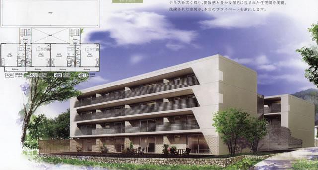 物件番号: 1025808605 ラ・ウェゾン北野  神戸市中央区北野町3丁目 1R マンション 外観画像