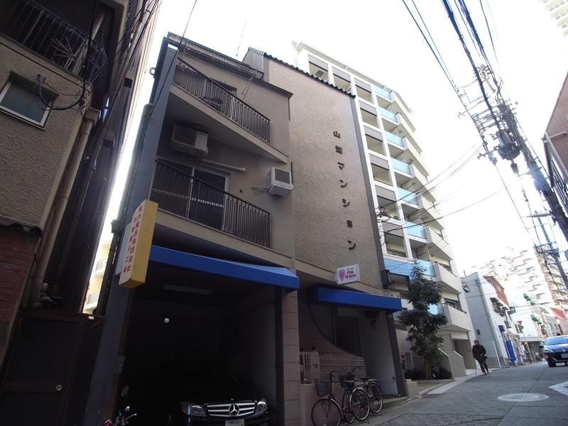 物件番号: 1025840207 山海マンション  神戸市中央区下山手通3丁目 2LDK マンション 外観画像