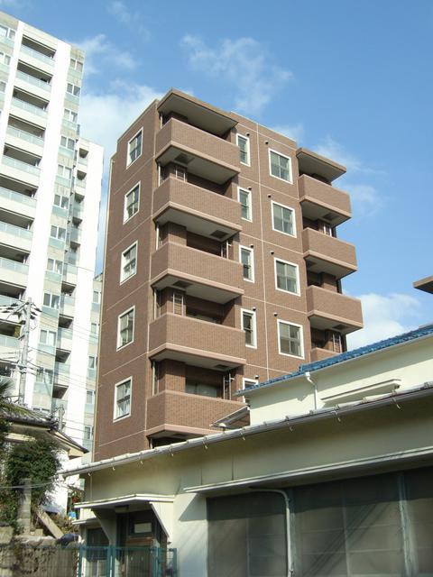 物件番号: 1025857965 WOB SHINKOBE  神戸市中央区熊内町4丁目 1K マンション 外観画像