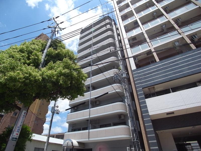 物件番号: 1025804721 リブコート神戸山の手  神戸市中央区下山手通7丁目 2LDK マンション 外観画像
