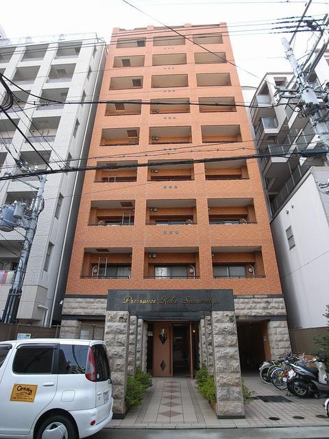 物件番号: 1025833240 プレサンス神戸三宮  神戸市中央区雲井通4丁目 1LDK マンション 外観画像