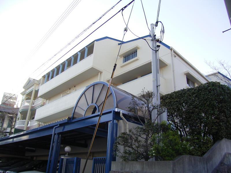 物件番号: 1025881688 マーキス・リー  神戸市中央区山本通3丁目 1LDK マンション 外観画像