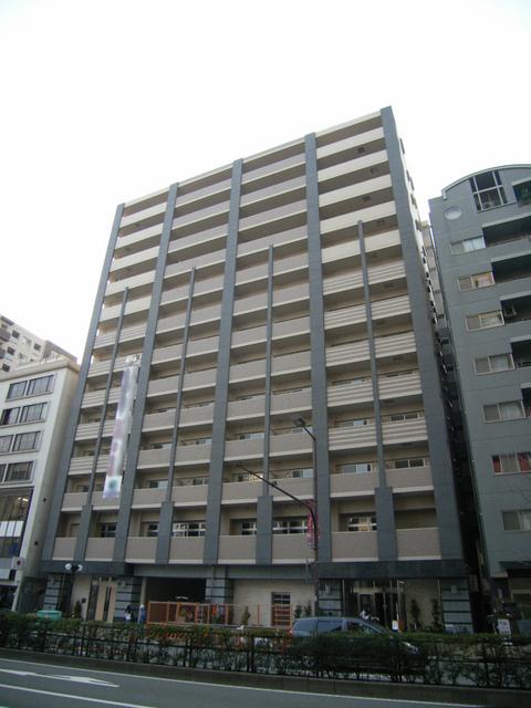 物件番号: 1025830494 プレジール三宮Ⅱ  神戸市中央区加納町2丁目 1DK マンション 外観画像