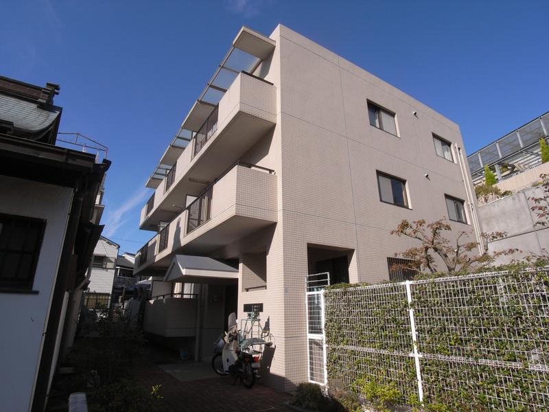 物件番号: 1025819545 フロール中山手  神戸市中央区中山手通7丁目 2LDK マンション 外観画像