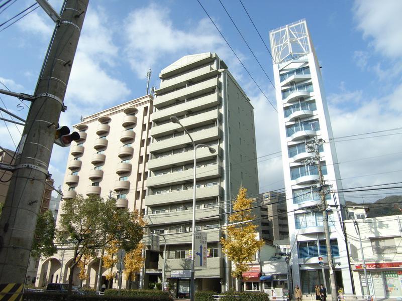 物件番号: 1025815979 PLAISANT新神戸  神戸市中央区二宮町4丁目 1LDK マンション 外観画像