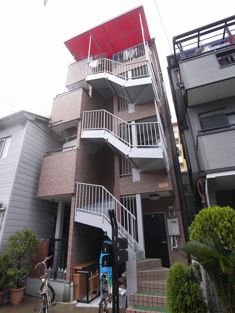 物件番号: 1025869088 リーフハイツ  神戸市中央区雲井通3丁目 1LDK マンション 外観画像