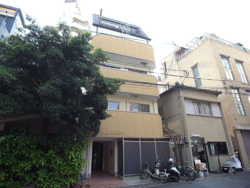 物件番号: 1025820062 ヴィラ神戸7  神戸市中央区加納町3丁目 1LDK マンション 外観画像