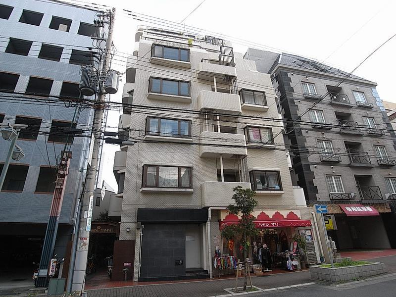 物件番号: 1025813026 サンシャイン山手  神戸市中央区中山手通2丁目 2DK マンション 外観画像