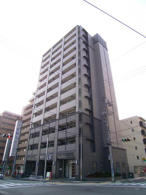 物件番号: 1025822720 エスリード神戸三宮パークビュー  神戸市中央区御幸通2丁目 1R マンション 外観画像