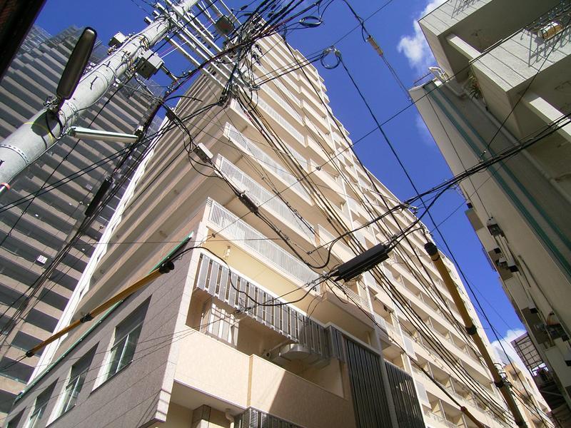 物件番号: 1025839274 トア山手フラッツ  神戸市中央区下山手通3丁目 1K マンション 外観画像