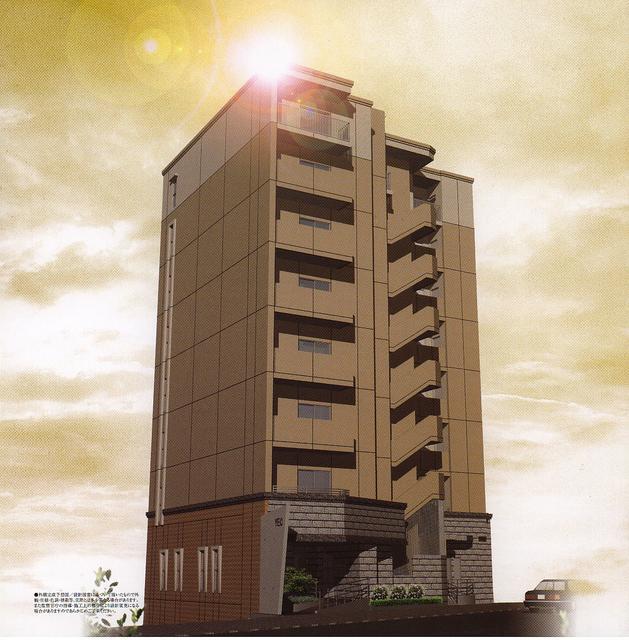 物件番号: 1025865807 YAMATE435  神戸市中央区中山手通4丁目 1K マンション 外観画像